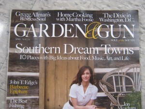 upscale magazine for garden and gun enthusiasts