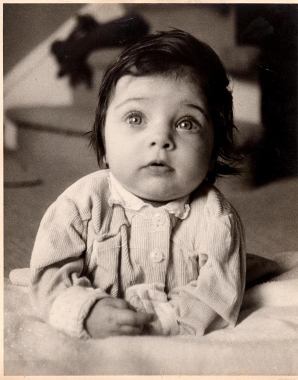 Jill as a baby