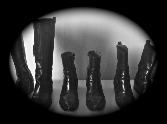Black Italian Boots
