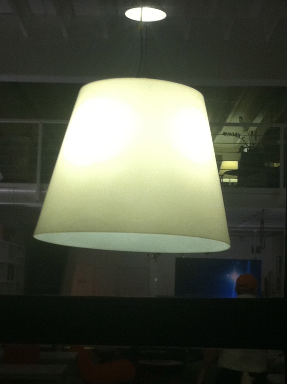 a single light fixture