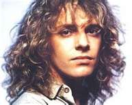 singer Peter Frampton as a young man