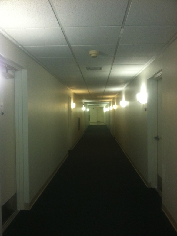 apartment building hallway
